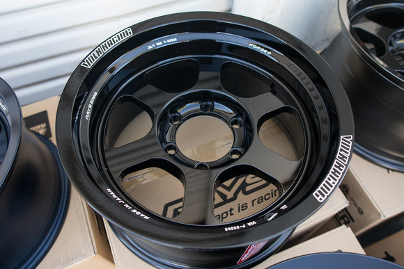 Volk TE37XT M-Spec 16x8.5 -10, 6x139.7 Gloss Black