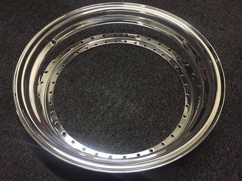 "18"" Step Lip Outer 40 Hole for SSR Professor"