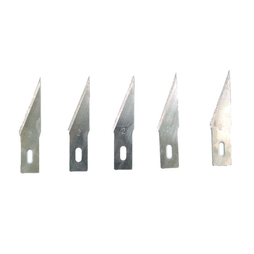 WLXY 5pcs #2 Precision steel blades for Wood Carving Tools Engraving Craft Sculpture Knife Scalpel Cutting Tool for Phone PCB Re