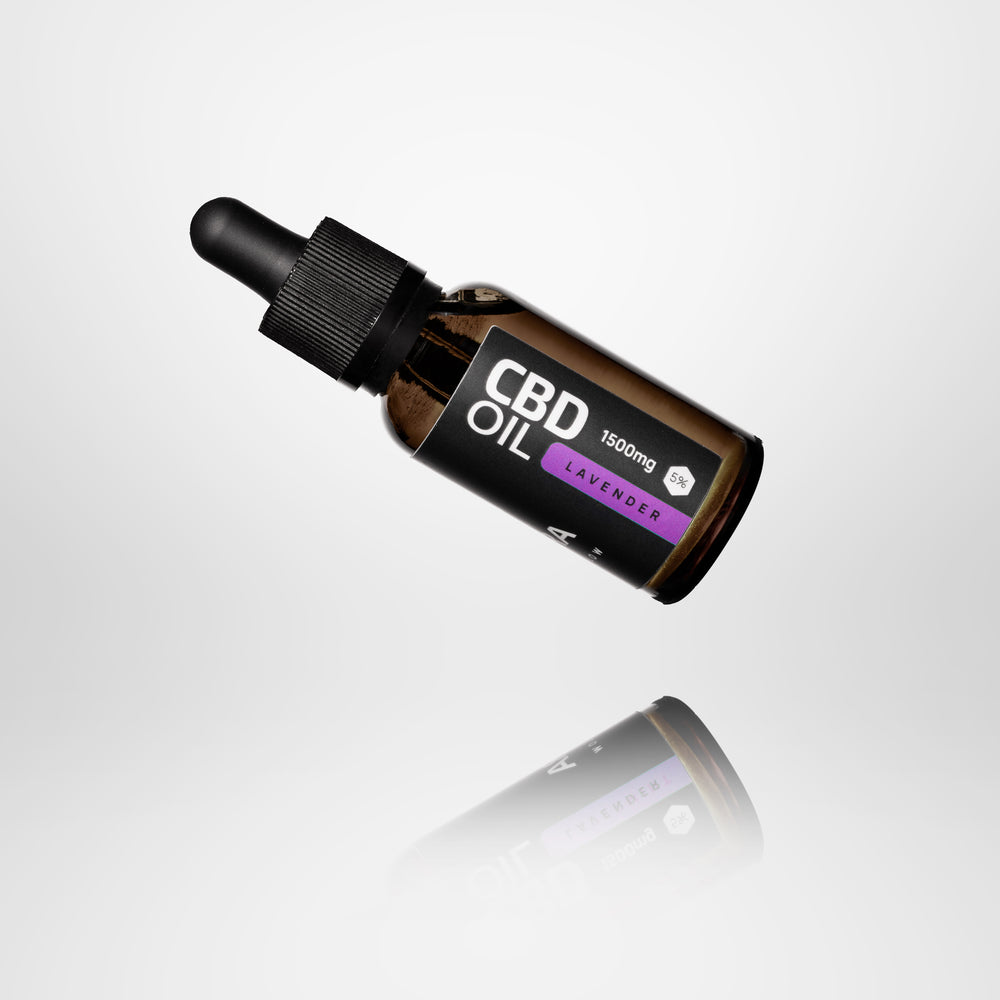 CBD Oil infused with lavender