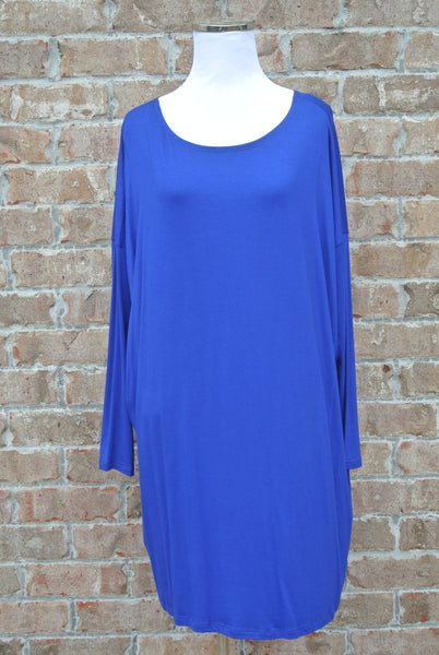 Necessity Tunic- Royal Blue
