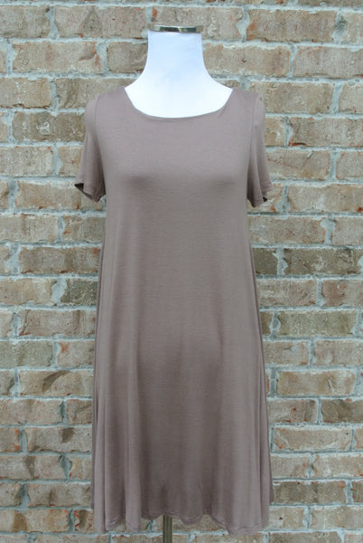 Latte T-Shirt Dress