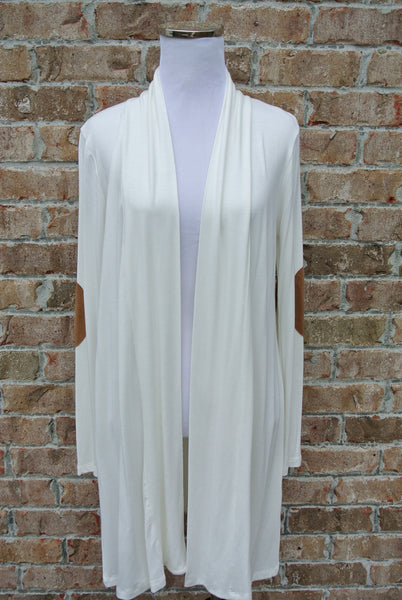 Long Road Cardigan- Ivory