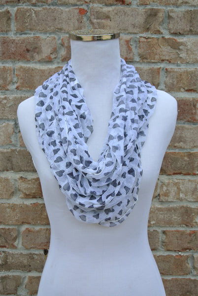 Hearts Desire Infinity Scarf