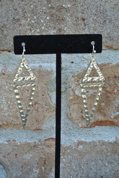 Two Dimension Earrings