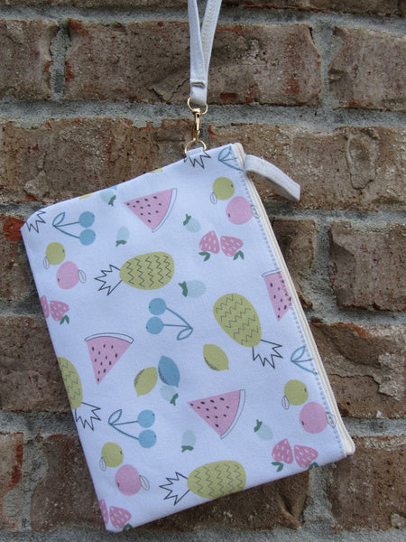 Summertime Fruit Storage Bag Clutch