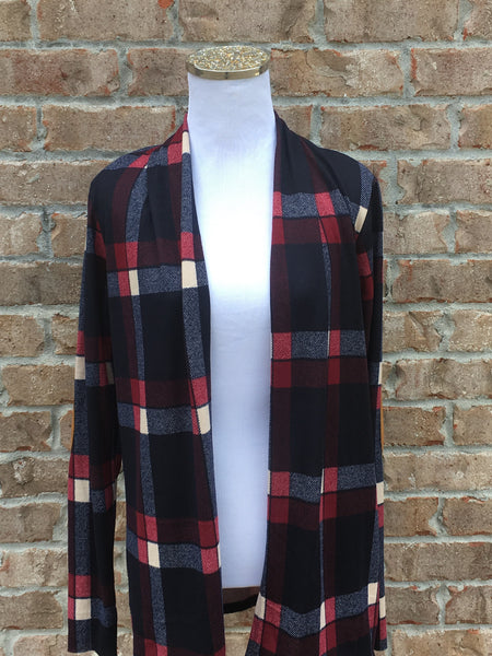 Homegrown Plaid Cardigan