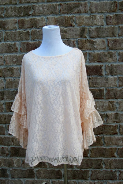 Classically Ruffled Top