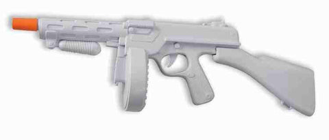 GANGSTER MACHINE GUN white