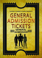 Image of General Admission Matinee Ticket