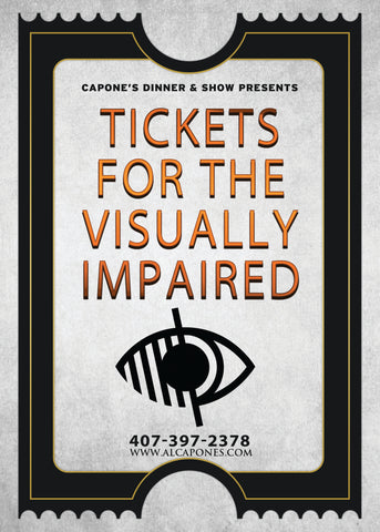 Tickets for the Visually Impaired