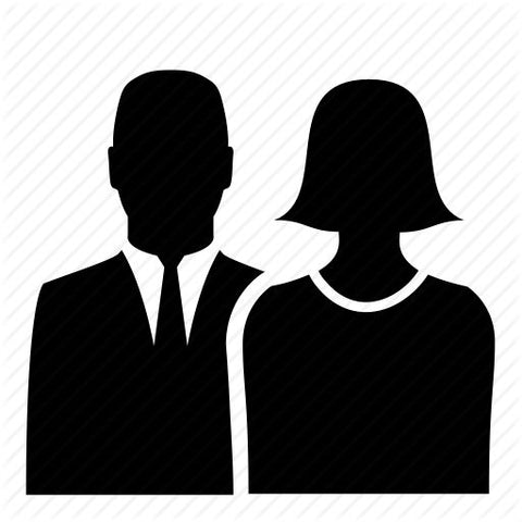 Adult Male and Female Symbol Icon