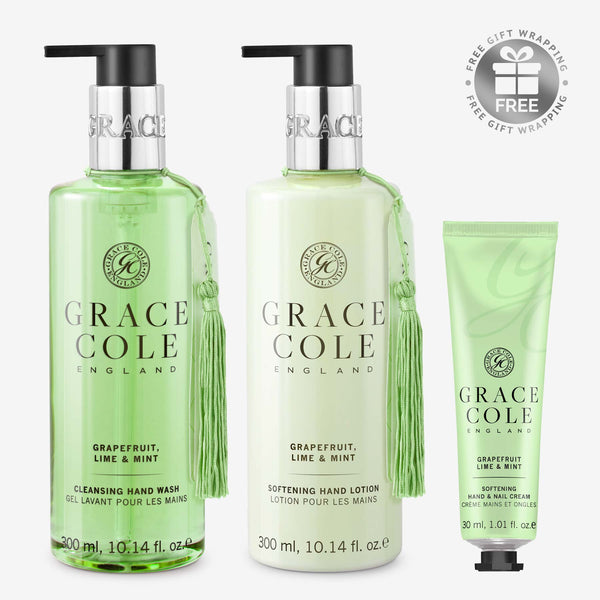 Grapefruit, Lime & Mint Hand Care Mother's Day Gift Set