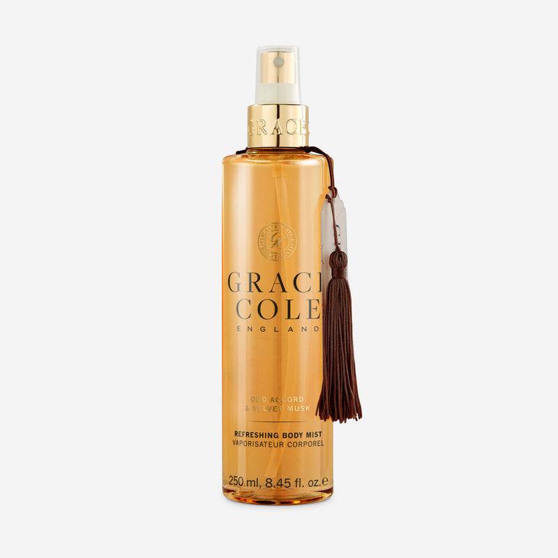 Oud Accord & Velvet Musk Refreshing Body Mist