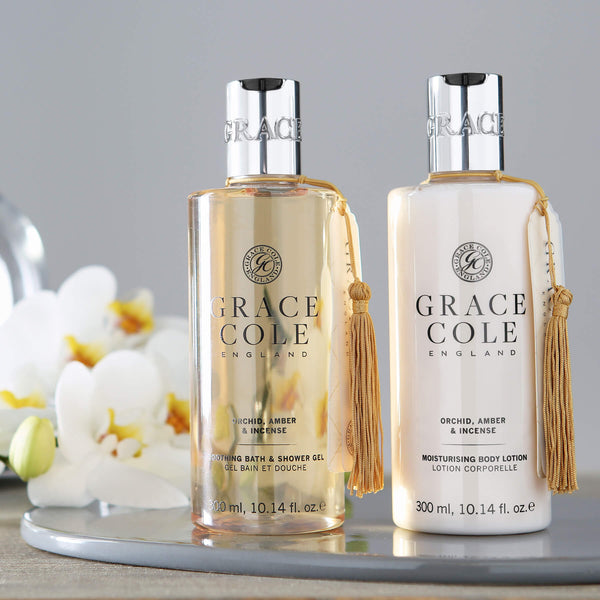 Orchid, Amber & Incense Body Care Set