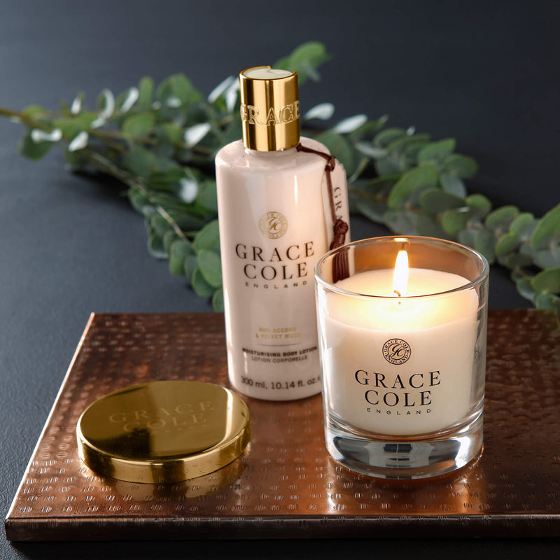 Oud Accord & Velvet Musk Moisturising Body Lotion