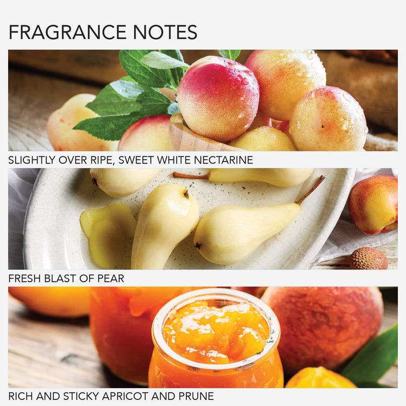 White Nectarine & Pear Soothing Bath & Shower Gel Travel Size