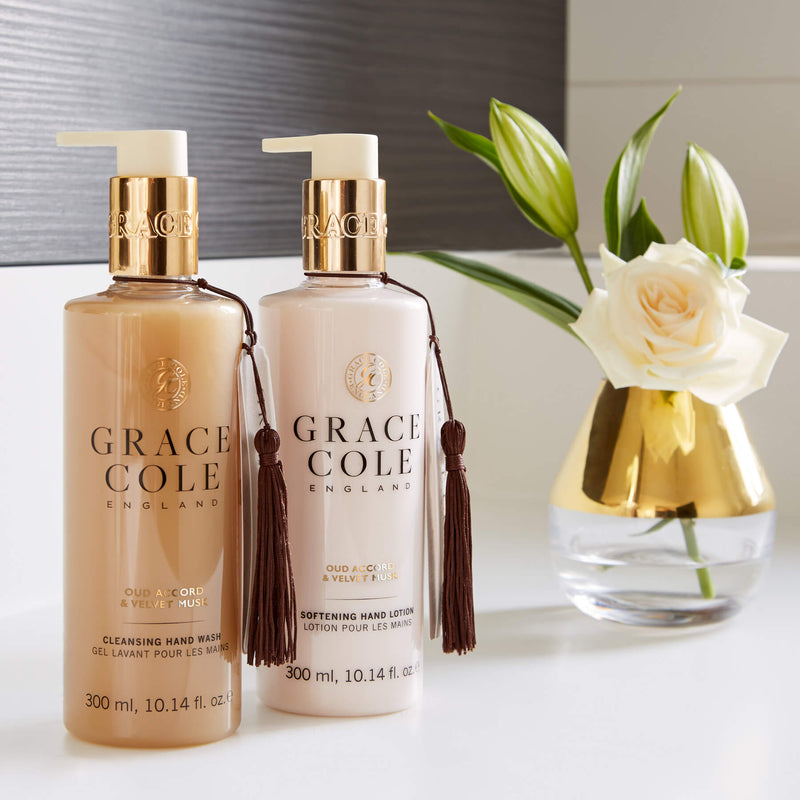Oud Accord & Velvet Musk Softening Hand Lotion