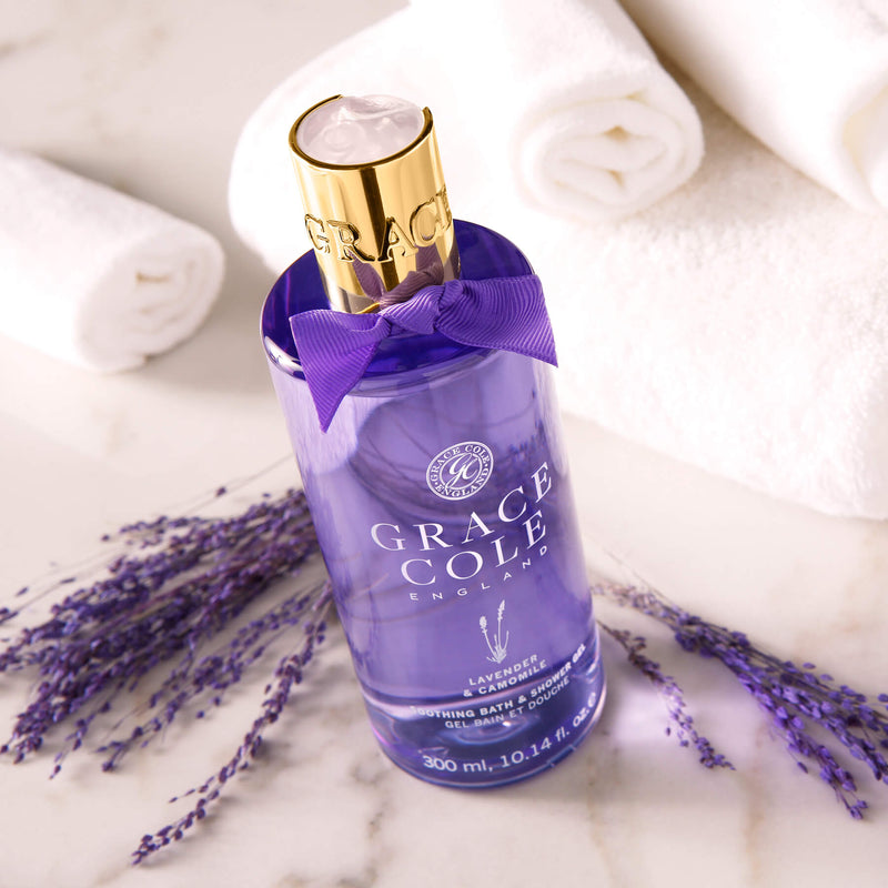 Lavender & Camomile Soothing Bath & Shower Gel