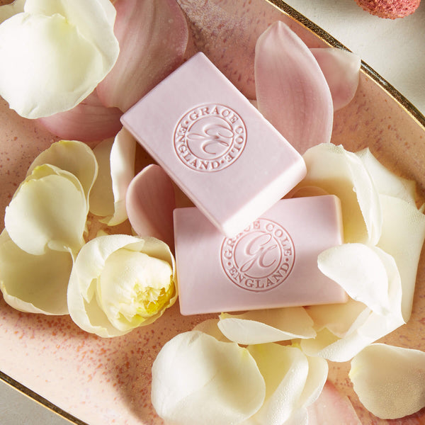 White Rose & Lotus Flower Gentle Soap