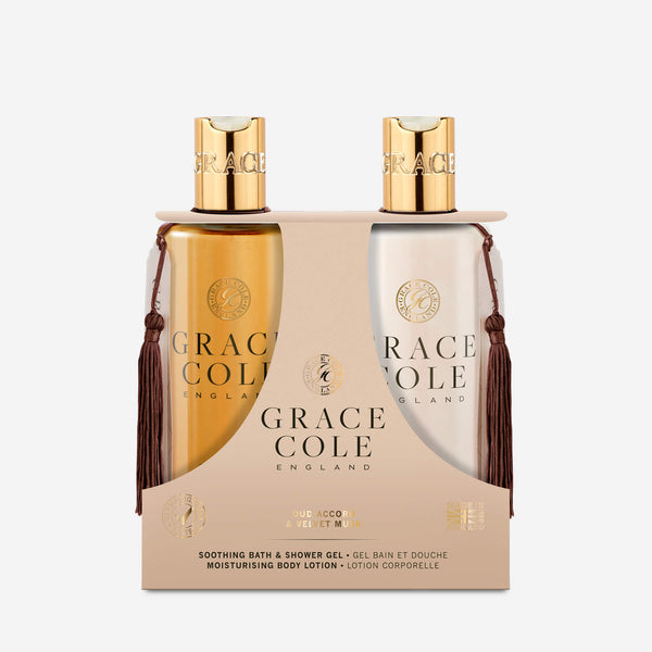 Oud Accord & Velvet Musk Body Care Set