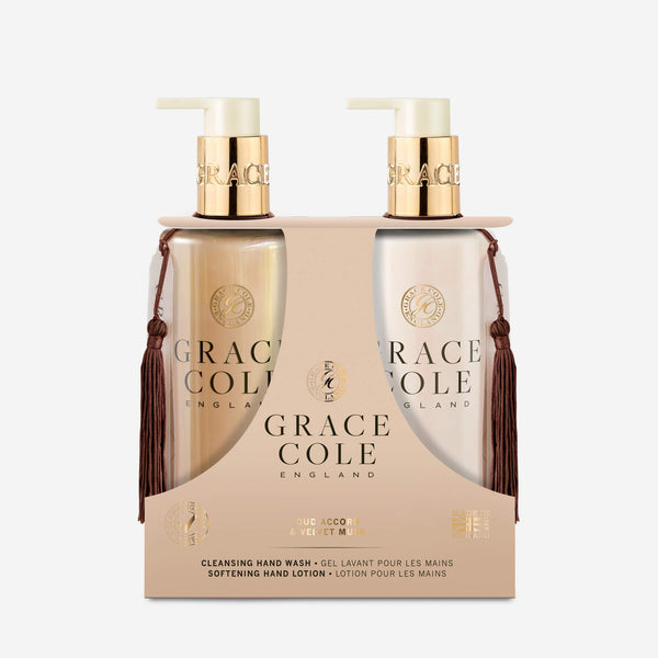Oud Accord & Velvet Musk Hand Care Set