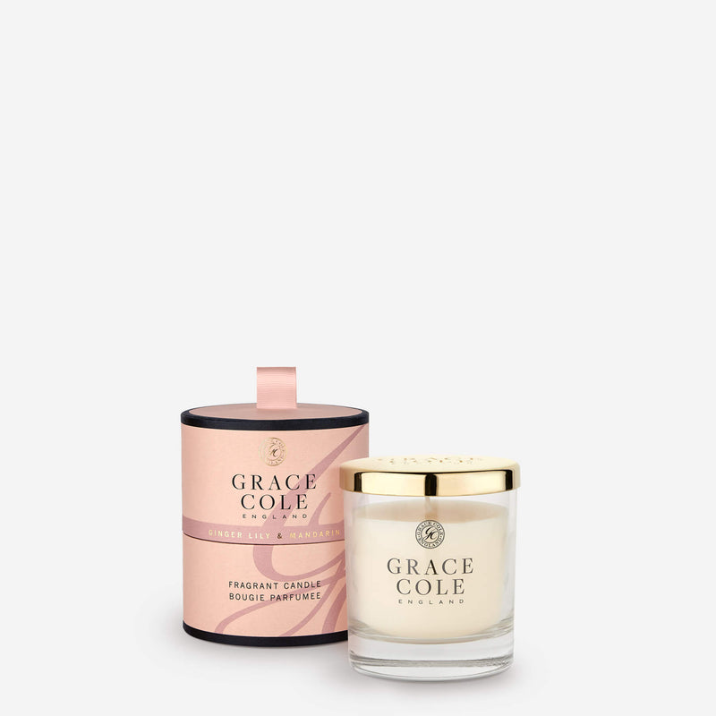 Ginger Lily & Mandarin Fragrant Candle