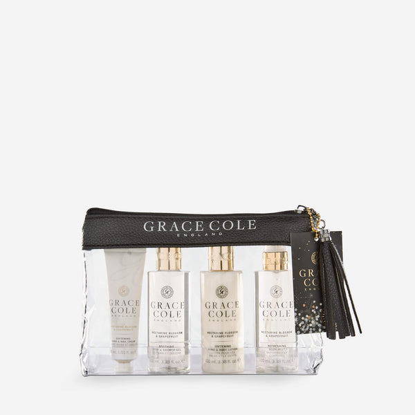 Nectarine Blossom & Grapefruit Luxury Travel Set