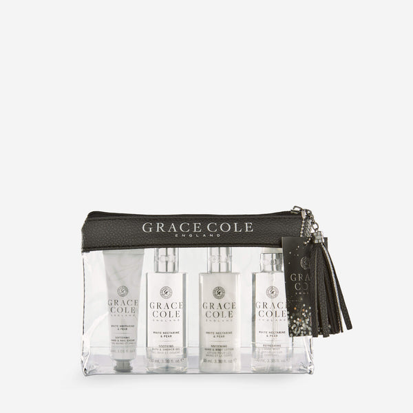 White Nectarine & Pear Luxury Travel Set