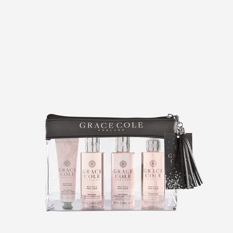 Wild Fig & Pink Cedar Luxury Travel Set