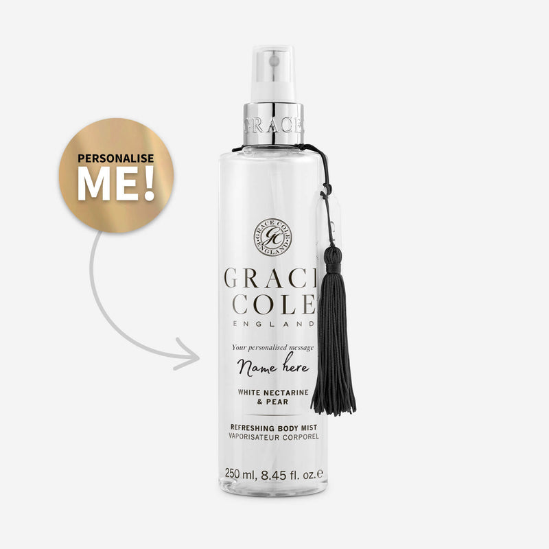 White Nectarine Pear Refreshing Body Mist Grace Cole Limited
