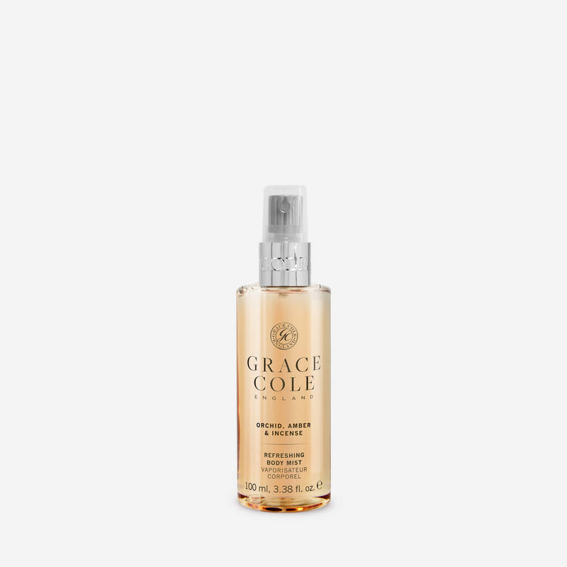 Orchid, Amber & Incense Refreshing Body Mist Travel Size