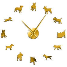 Load image into Gallery viewer, Large art Wall Clock of Dogs