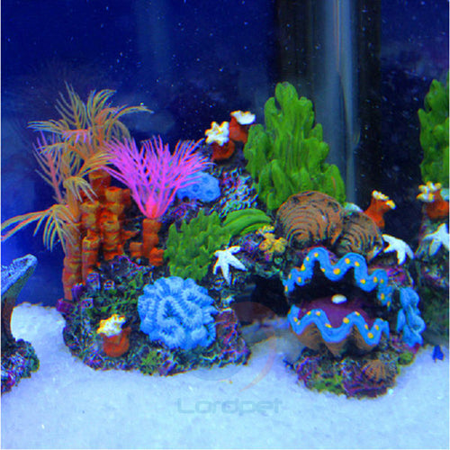 Coral Reef Cave Aquarium Decoration Ornament Type 2