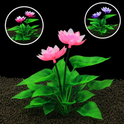 Lovely Lotus  Aquarium Decoration Plant 3 Colors