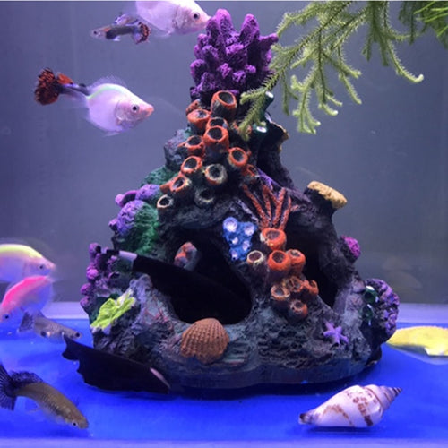 Artificial Coral Reef Cave Aquarium Decoration