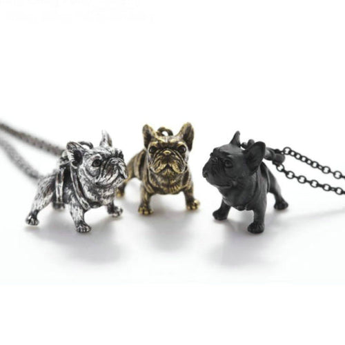 Just Arrivad French Bulldog Necklace