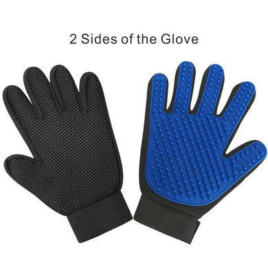 grooming glove for cats & dogs