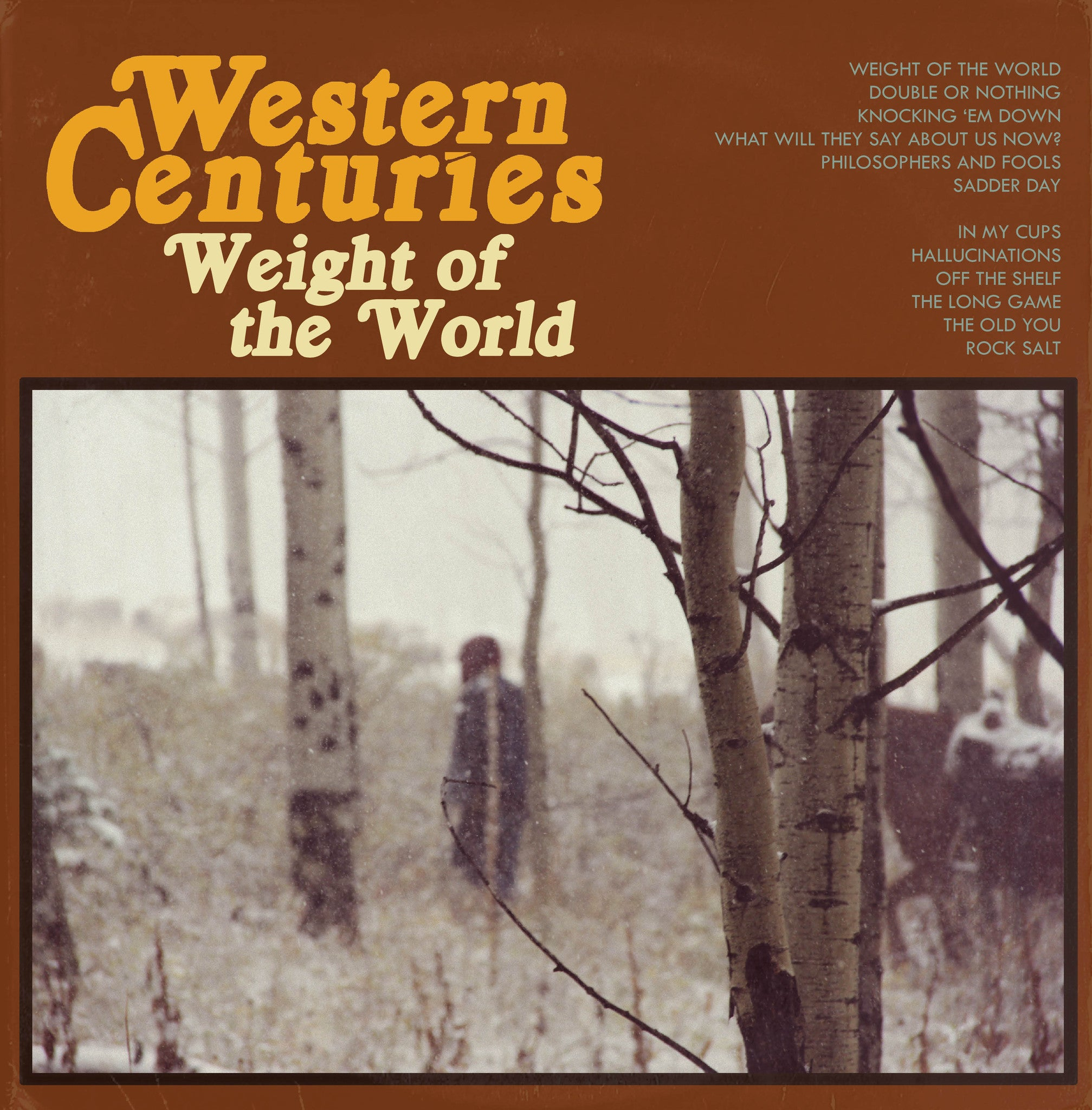 Preorder The New Album From Western Centuries
