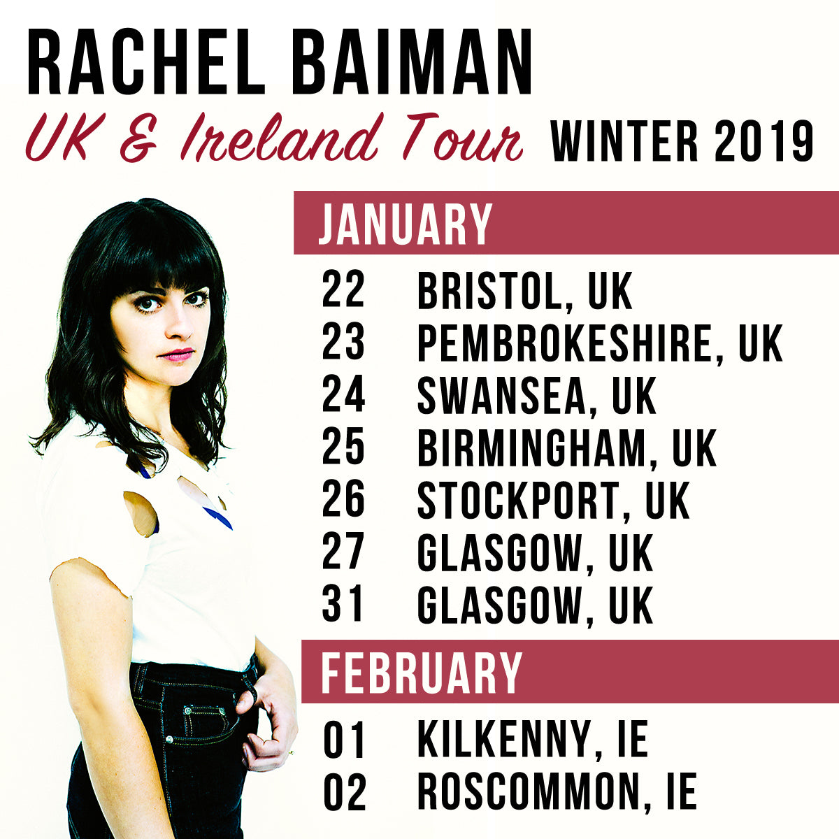 Rachel Baiman Returns to UK & Ireland This Winter
