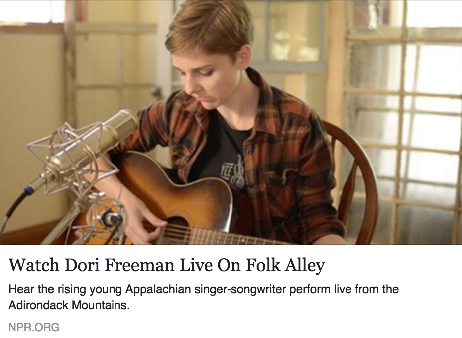 NPR Music Features Dori Freeman