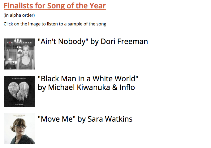 Dori Freeman Nominated for Song of the Year at International Folk Awards