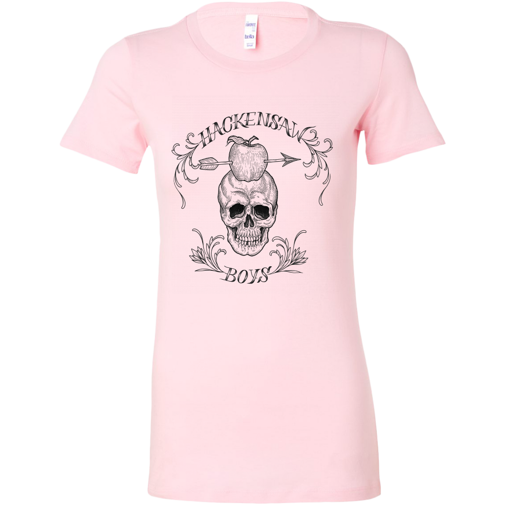 "Hackensaw Boys ""Skull"" Bella Women's T-Shirt"