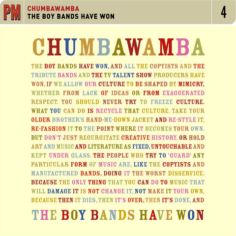 Chumbawamba - The Boy Bands Have Won