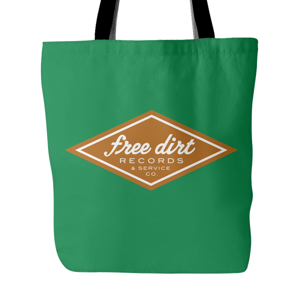 Free Dirt Records & Service Co. Tote Bag