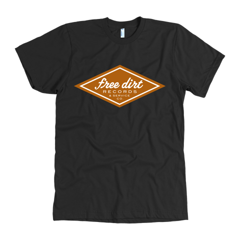 Free Dirt Records & Service Co. American Apparel Men's T-Shirt