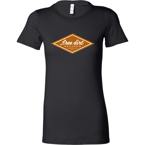 Free Dirt Records & Service Co. Bella Womens Shirt