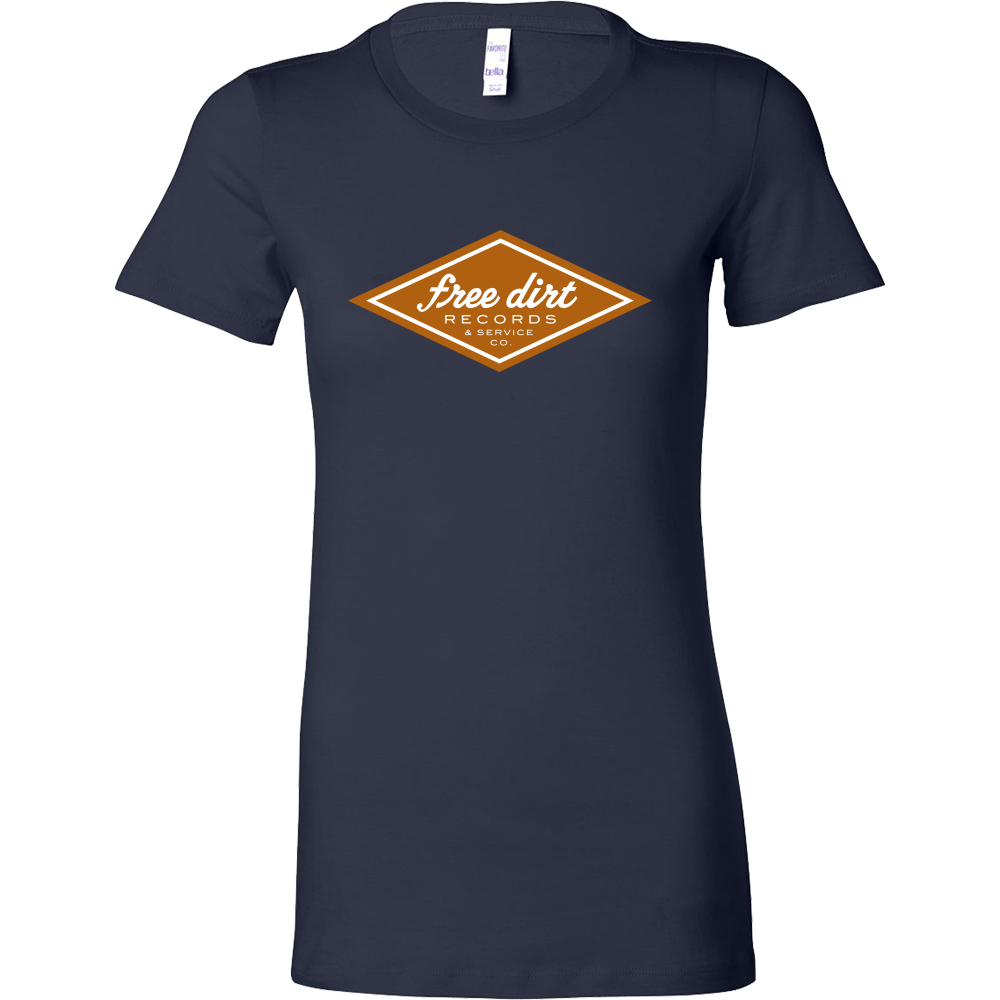 Free Dirt Records & Service Co. Bella Women's T-Shirt