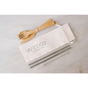Viveco-stainless-steel-straw-set-bamboo-