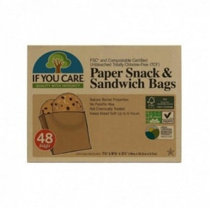 Paper Snack and Sandwich Bags (48)